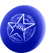 Фрисби для детей Discraft J★Star Blue