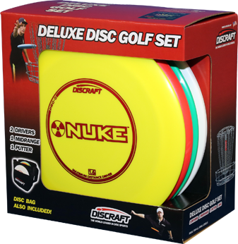 Deluxe Disc Golf Set